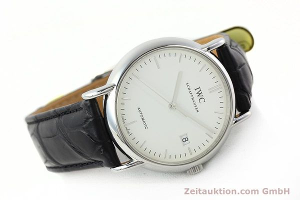 Used luxury watch IWC Portofino steel automatic Kal. 30110 Ref. 3533  | 142573 03