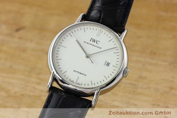 Used luxury watch IWC Portofino steel automatic Kal. 30110 Ref. 3533  | 142573 04