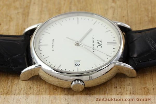 Used luxury watch IWC Portofino steel automatic Kal. 30110 Ref. 3533  | 142573 05