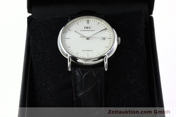 Used luxury watch IWC Portofino steel automatic Kal. 30110 Ref. 3533  | 142573 07