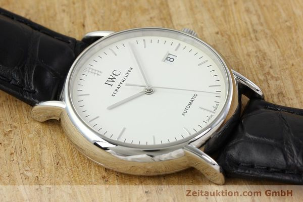 Used luxury watch IWC Portofino steel automatic Kal. 30110 Ref. 3533  | 142573 14