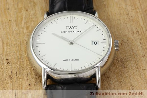 Used luxury watch IWC Portofino steel automatic Kal. 30110 Ref. 3533  | 142573 15