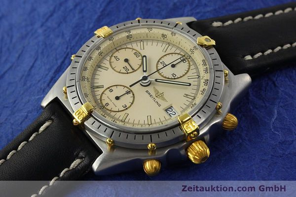 Used luxury watch Breitling Chronomat chronograph steel / gold automatic Kal. Val. 7750 Ref. 81950  | 142574 01