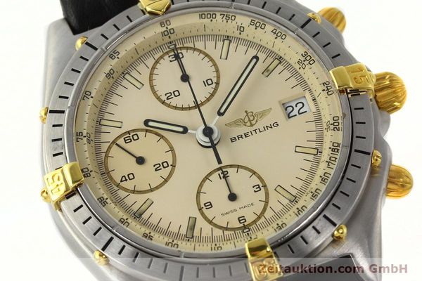 Used luxury watch Breitling Chronomat chronograph steel / gold automatic Kal. Val. 7750 Ref. 81950  | 142574 02