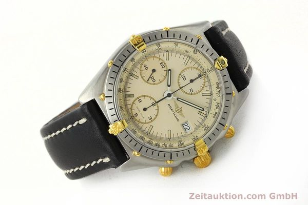Used luxury watch Breitling Chronomat chronograph steel / gold automatic Kal. Val. 7750 Ref. 81950  | 142574 03