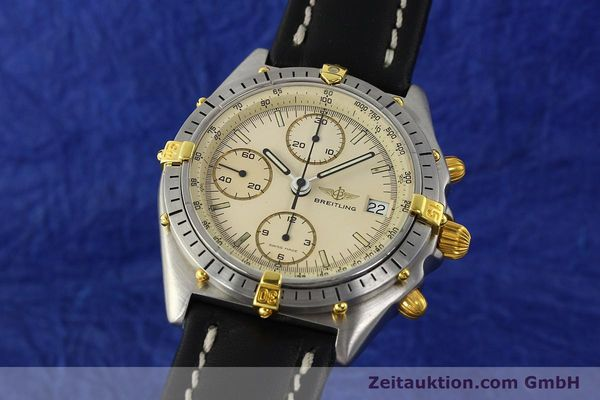 Used luxury watch Breitling Chronomat chronograph steel / gold automatic Kal. Val. 7750 Ref. 81950  | 142574 04