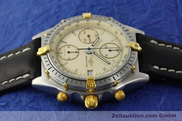 Used luxury watch Breitling Chronomat chronograph steel / gold automatic Kal. Val. 7750 Ref. 81950  | 142574 05