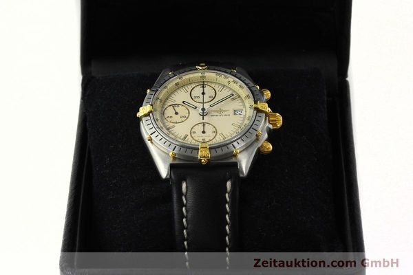 Used luxury watch Breitling Chronomat chronograph steel / gold automatic Kal. Val. 7750 Ref. 81950  | 142574 07