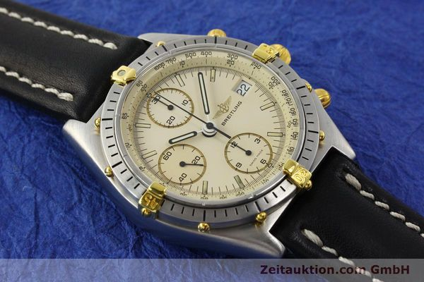 Used luxury watch Breitling Chronomat chronograph steel / gold automatic Kal. Val. 7750 Ref. 81950  | 142574 13