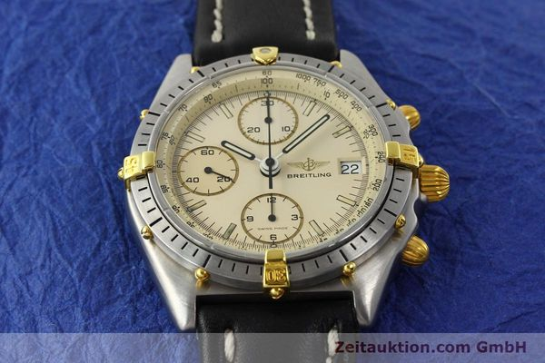 Used luxury watch Breitling Chronomat chronograph steel / gold automatic Kal. Val. 7750 Ref. 81950  | 142574 14