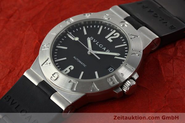 Used luxury watch Bvlgari Diagono steel automatic Kal. TEEA Ref. LCV35S  | 142575 01