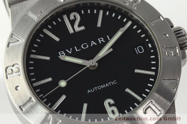 Used luxury watch Bvlgari Diagono steel automatic Kal. TEEA Ref. LCV35S  | 142575 02