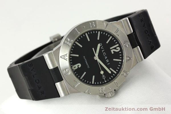 Used luxury watch Bvlgari Diagono steel automatic Kal. TEEA Ref. LCV35S  | 142575 03