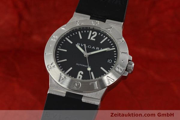 Used luxury watch Bvlgari Diagono steel automatic Kal. TEEA Ref. LCV35S  | 142575 04