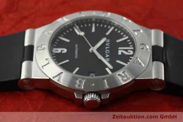 Used luxury watch Bvlgari Diagono steel automatic Kal. TEEA Ref. LCV35S  | 142575 05