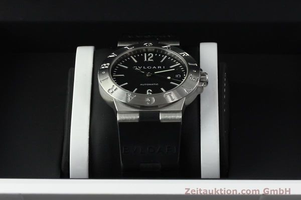 Used luxury watch Bvlgari Diagono steel automatic Kal. TEEA Ref. LCV35S  | 142575 07