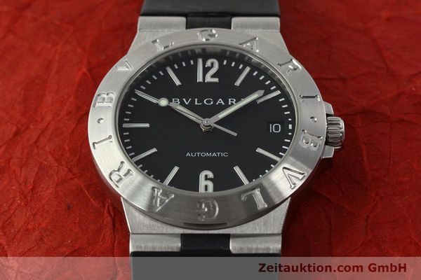 Used luxury watch Bvlgari Diagono steel automatic Kal. TEEA Ref. LCV35S  | 142575 15