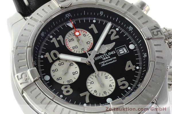 Used luxury watch Breitling Avenger chronograph steel automatic Kal. B13 ETA 7750 Ref. A13370  | 142576 02