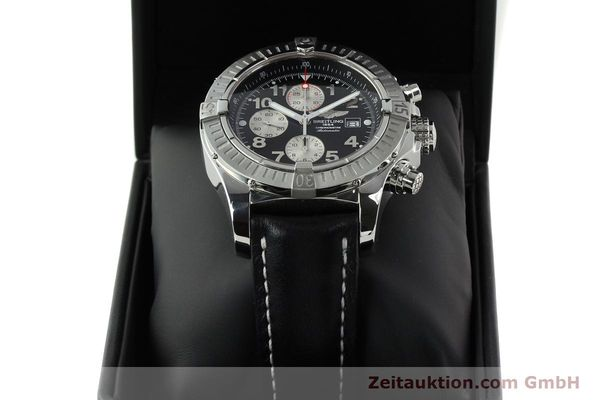 Used luxury watch Breitling Avenger chronograph steel automatic Kal. B13 ETA 7750 Ref. A13370  | 142576 07