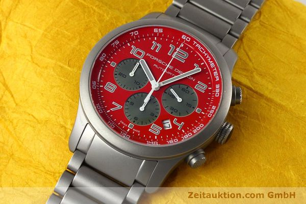Used luxury watch Porsche Design Dashbord chronograph titanium automatic Kal. ETA 2894-2 Ref. 6612.10/2  | 142580 01