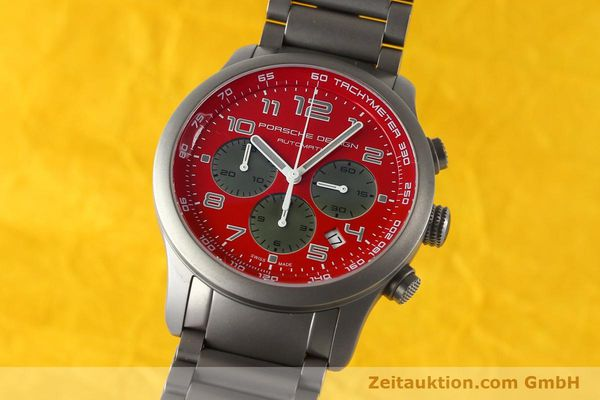 Used luxury watch Porsche Design Dashbord chronograph titanium automatic Kal. ETA 2894-2 Ref. 6612.10/2  | 142580 04