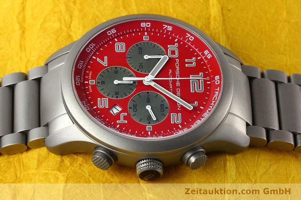 Used luxury watch Porsche Design Dashbord chronograph titanium automatic Kal. ETA 2894-2 Ref. 6612.10/2  | 142580 05