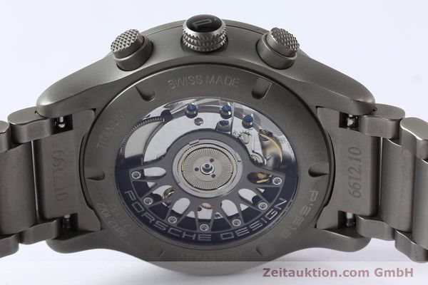 Used luxury watch Porsche Design Dashbord chronograph titanium automatic Kal. ETA 2894-2 Ref. 6612.10/2  | 142580 11