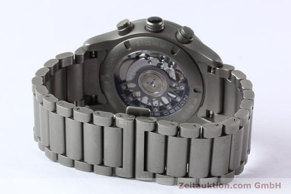 Used luxury watch Porsche Design Dashbord chronograph titanium automatic Kal. ETA 2894-2 Ref. 6612.10/2  | 142580 12