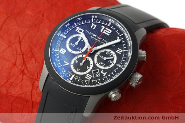 Used luxury watch Porsche Design Dashbord chronograph titanium automatic Kal. ETA 2894-2 Ref. 6612.15/3  | 142583 01