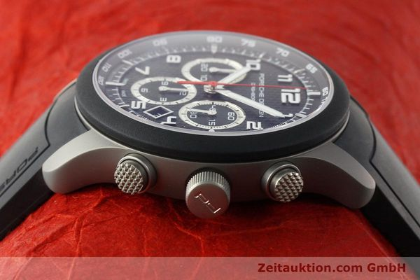 Used luxury watch Porsche Design Dashbord chronograph titanium automatic Kal. ETA 2894-2 Ref. 6612.15/3  | 142583 05