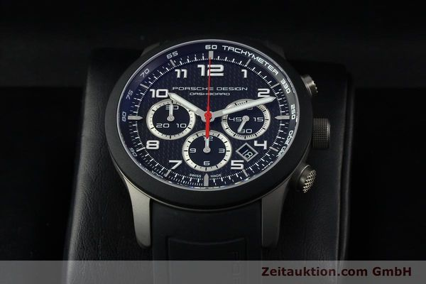 Used luxury watch Porsche Design Dashbord chronograph titanium automatic Kal. ETA 2894-2 Ref. 6612.15/3  | 142583 07