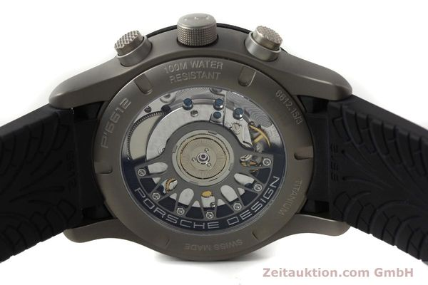 Used luxury watch Porsche Design Dashbord chronograph titanium automatic Kal. ETA 2894-2 Ref. 6612.15/3  | 142583 11