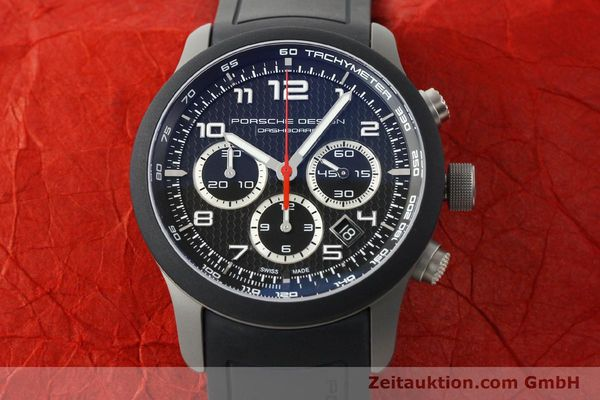Used luxury watch Porsche Design Dashbord chronograph titanium automatic Kal. ETA 2894-2 Ref. 6612.15/3  | 142583 14