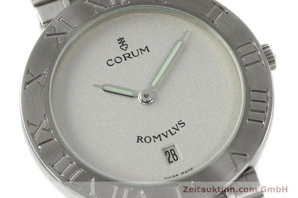 Used luxury watch Corum Romulus steel quartz Kal. ETA 255441 Ref. 43.703.20V400  | 142589 02