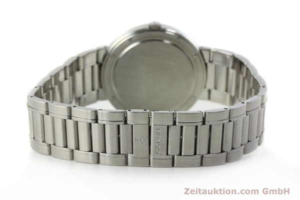 Used luxury watch Corum Romulus steel quartz Kal. ETA 255441 Ref. 43.703.20V400  | 142589 10