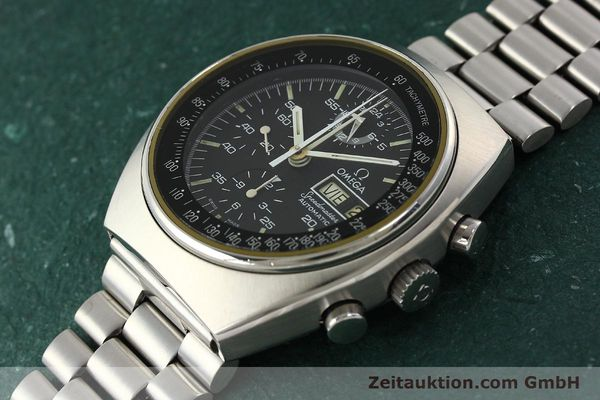 Used luxury watch Omega Speedmaster chronograph steel automatic Kal. 1045  | 142592 01