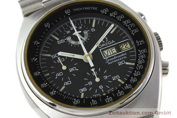 Used luxury watch Omega Speedmaster chronograph steel automatic Kal. 1045  | 142592 02