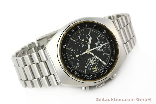 Used luxury watch Omega Speedmaster chronograph steel automatic Kal. 1045  | 142592 03