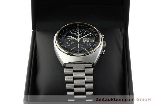 Used luxury watch Omega Speedmaster chronograph steel automatic Kal. 1045  | 142592 07