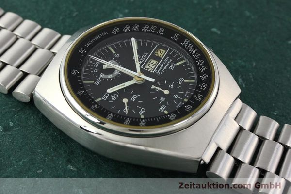 Used luxury watch Omega Speedmaster chronograph steel automatic Kal. 1045  | 142592 14
