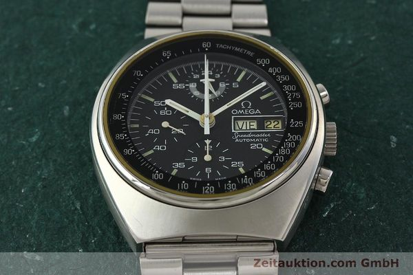 Used luxury watch Omega Speedmaster chronograph steel automatic Kal. 1045  | 142592 15
