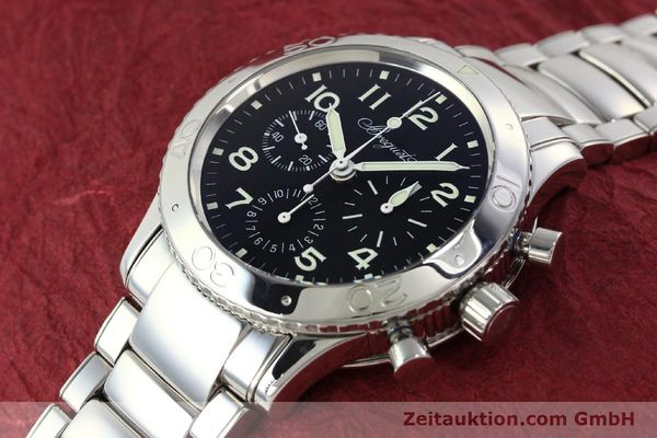 Used luxury watch Breguet Type XX chronograph steel automatic Kal. 582/1 Ref. 3800  | 142594 01