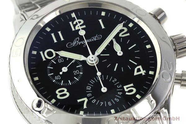 Used luxury watch Breguet Type XX chronograph steel automatic Kal. 582/1 Ref. 3800  | 142594 02