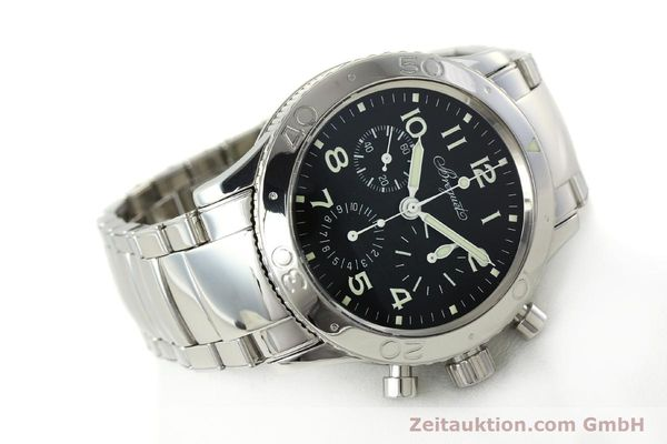 Used luxury watch Breguet Type XX chronograph steel automatic Kal. 582/1 Ref. 3800  | 142594 03