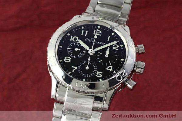Used luxury watch Breguet Type XX chronograph steel automatic Kal. 582/1 Ref. 3800  | 142594 04