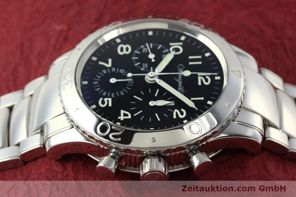 Used luxury watch Breguet Type XX chronograph steel automatic Kal. 582/1 Ref. 3800  | 142594 05