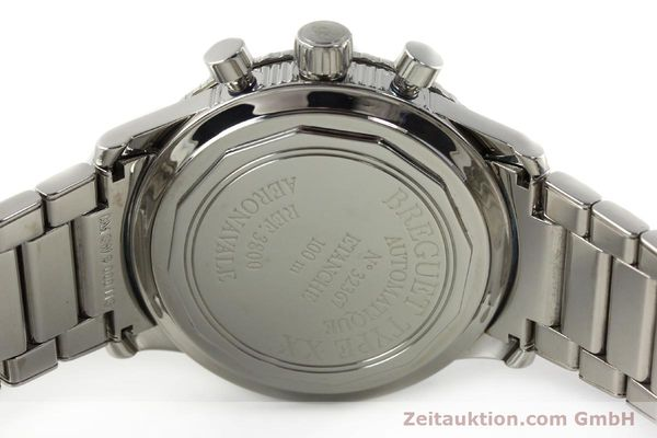 Used luxury watch Breguet Type XX chronograph steel automatic Kal. 582/1 Ref. 3800  | 142594 09