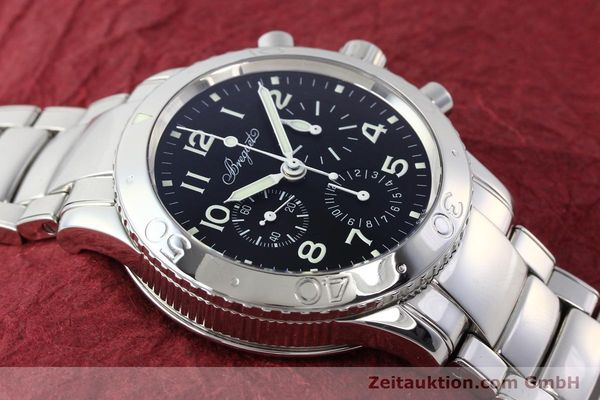 Used luxury watch Breguet Type XX chronograph steel automatic Kal. 582/1 Ref. 3800  | 142594 14