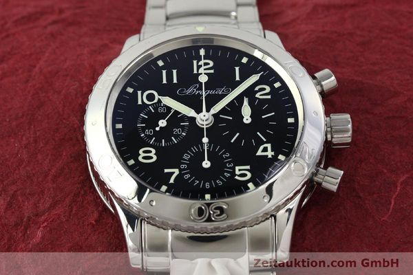Used luxury watch Breguet Type XX chronograph steel automatic Kal. 582/1 Ref. 3800  | 142594 15