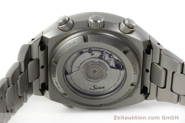 Used luxury watch Sinn 142 ST II chronograph steel automatic Kal. ETA 2892A2 Ref. 145.5272  | 142595 10